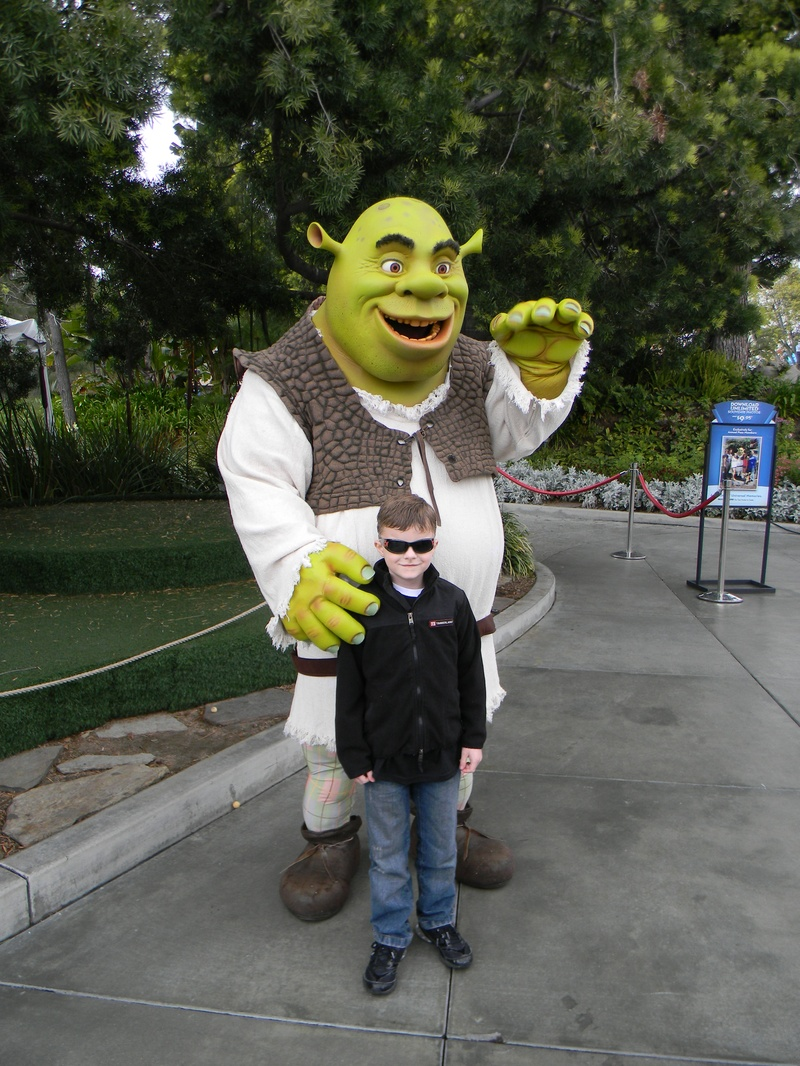 Riley and Shrek